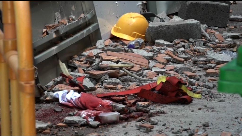 長沙灣有工人被批盪擊斃 大廈負責人被捕
