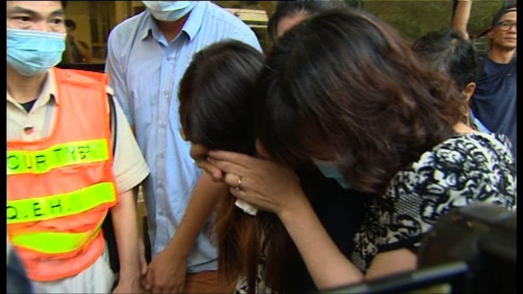紅磡三死工業意外 死者家屬到醫院認屍