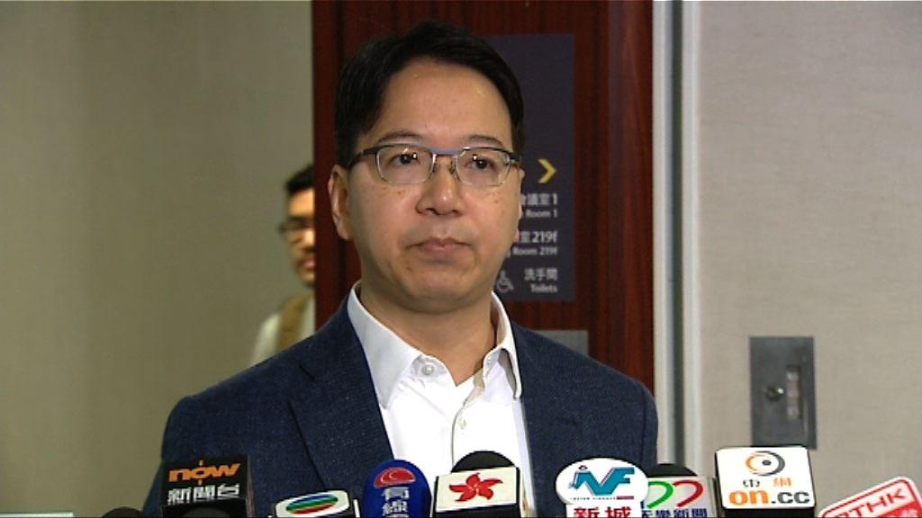 莫乃光不滿選舉事務處失竊責任推向前線