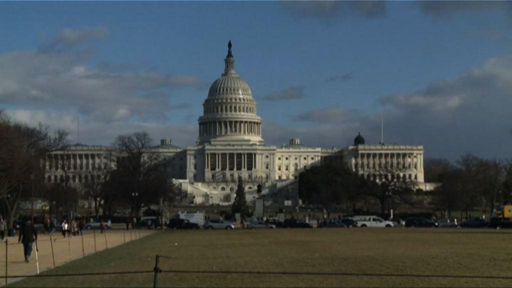 美國國會通過避免政府停擺的臨時撥款法案
