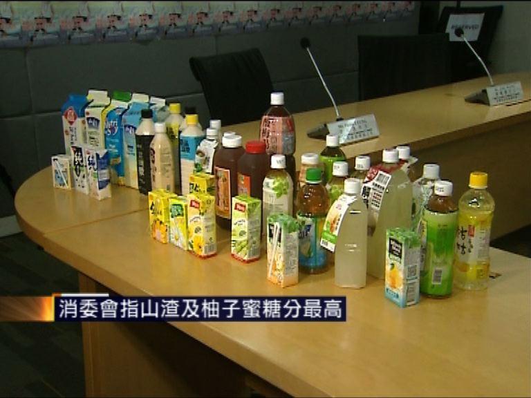 消委會抽查中式飲品 山渣柚子蜜糖分最高