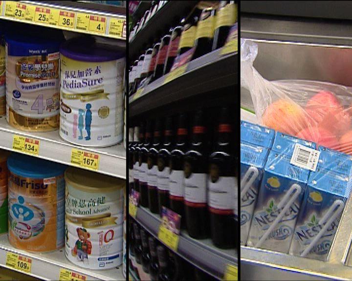消委會:去年超市貨品包裝蛋糕加幅最高