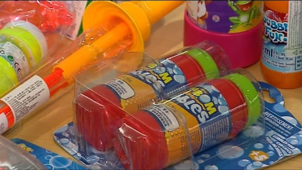 部分肥皂泡玩具含菌或致細菌性敗血症