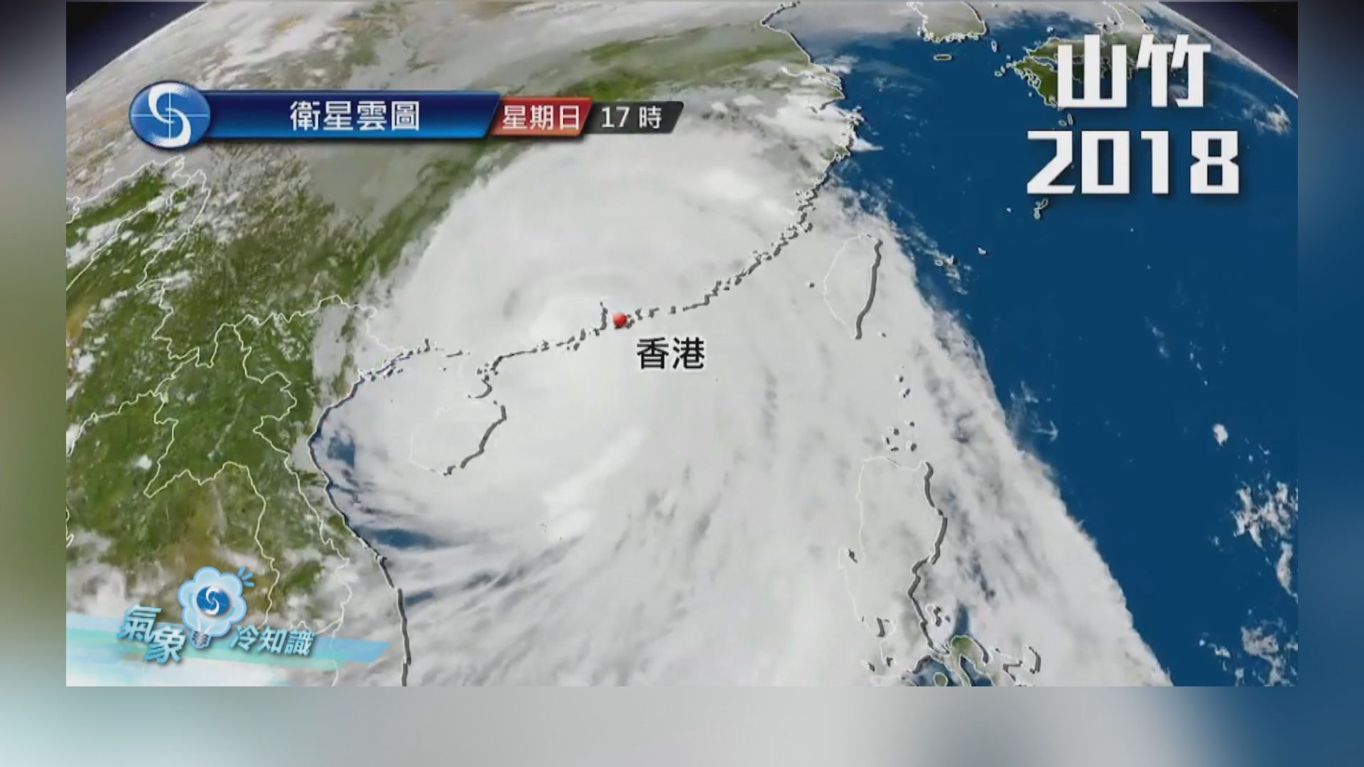 【氣象冷知識】「山竹」一年