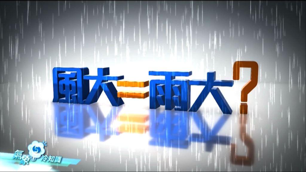 【氣象冷知識】天鴿特輯 風大=雨大?