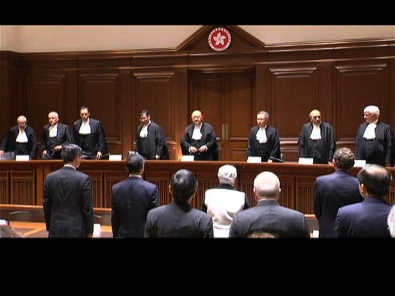 馬道立:法院非要作受歡迎裁決