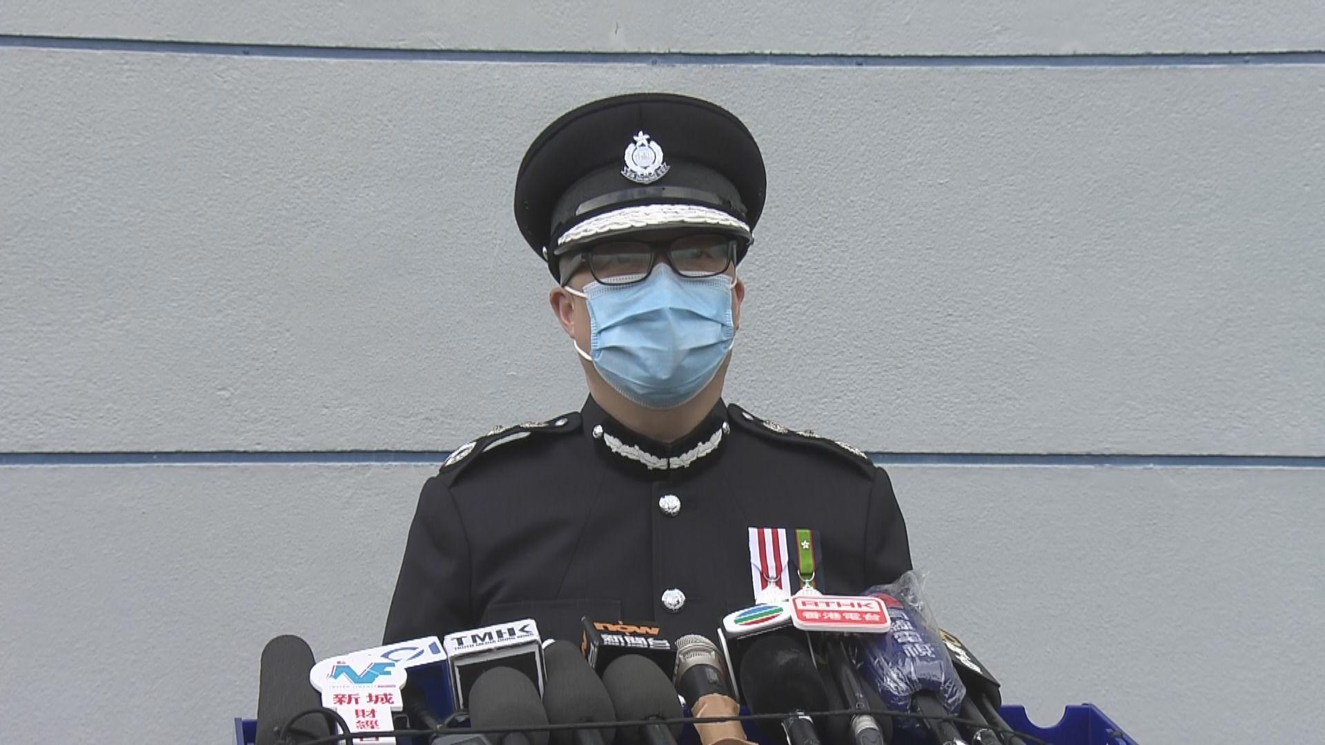 高院裁定警員不展示編號違法 鄧炳強稱會上訴