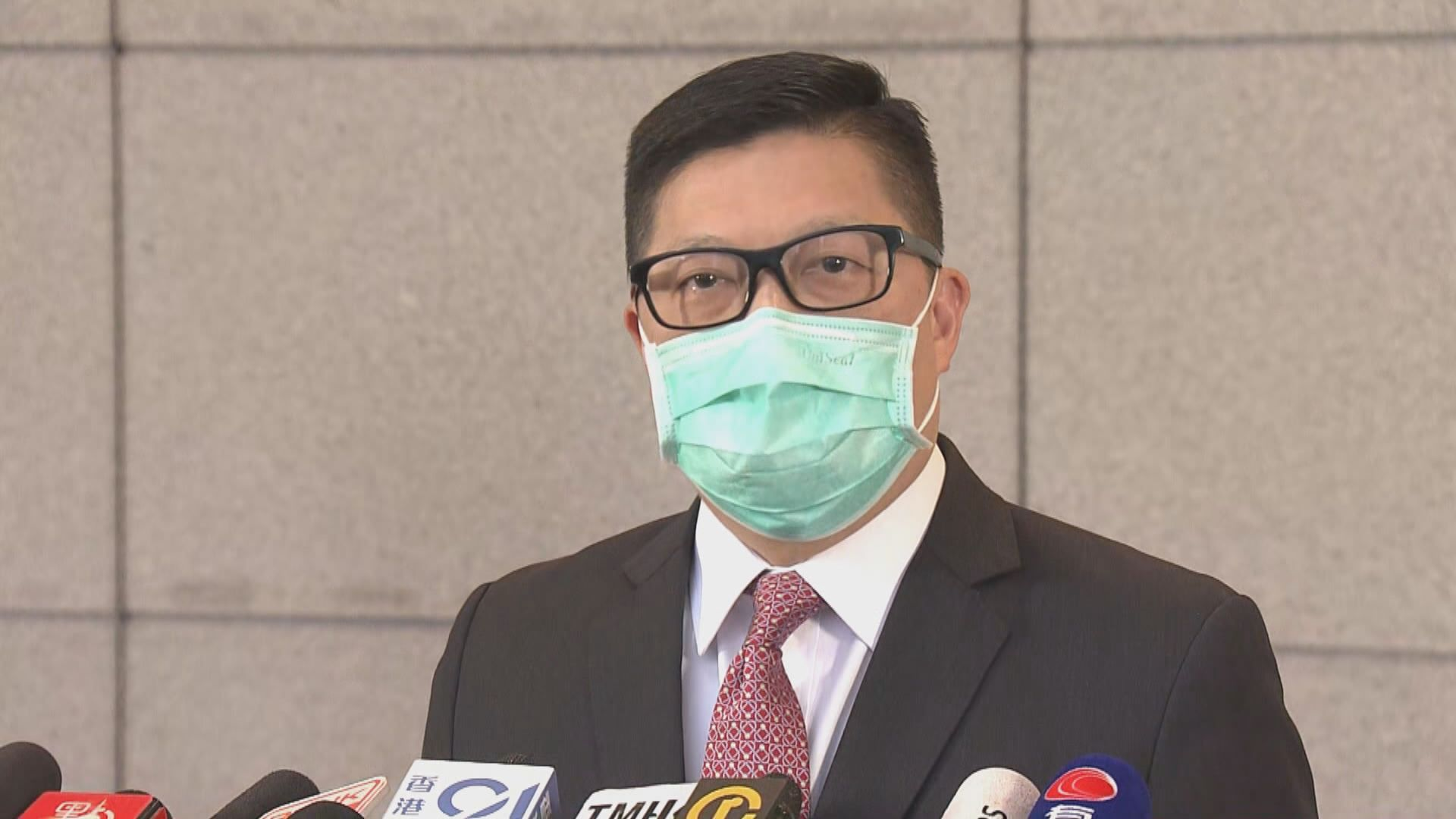 被剔除會面議程 鄧炳強:區議員憂謊言被道破