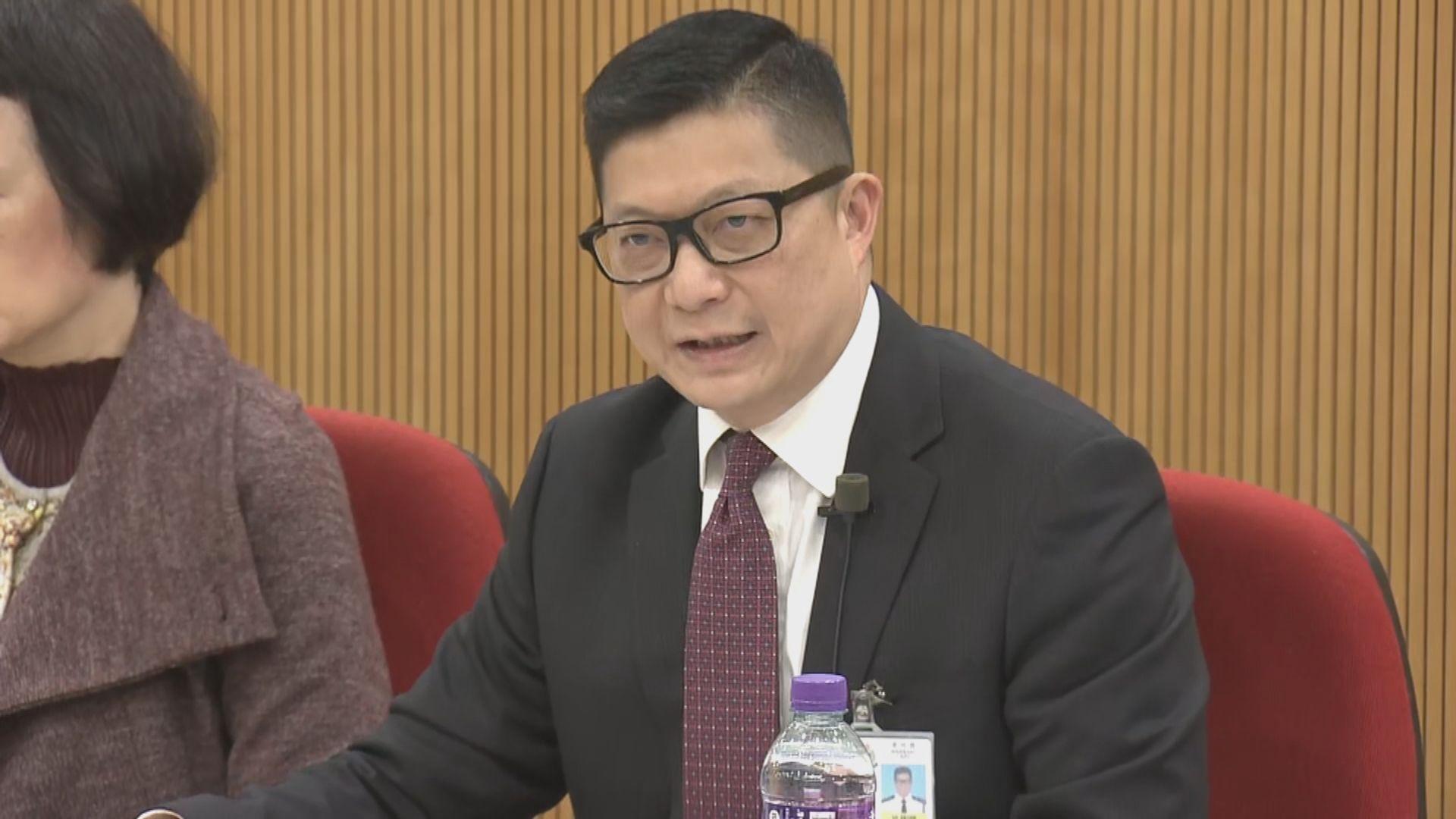 鄧炳強:坊間流傳很多假消息 很多人沒看清事實