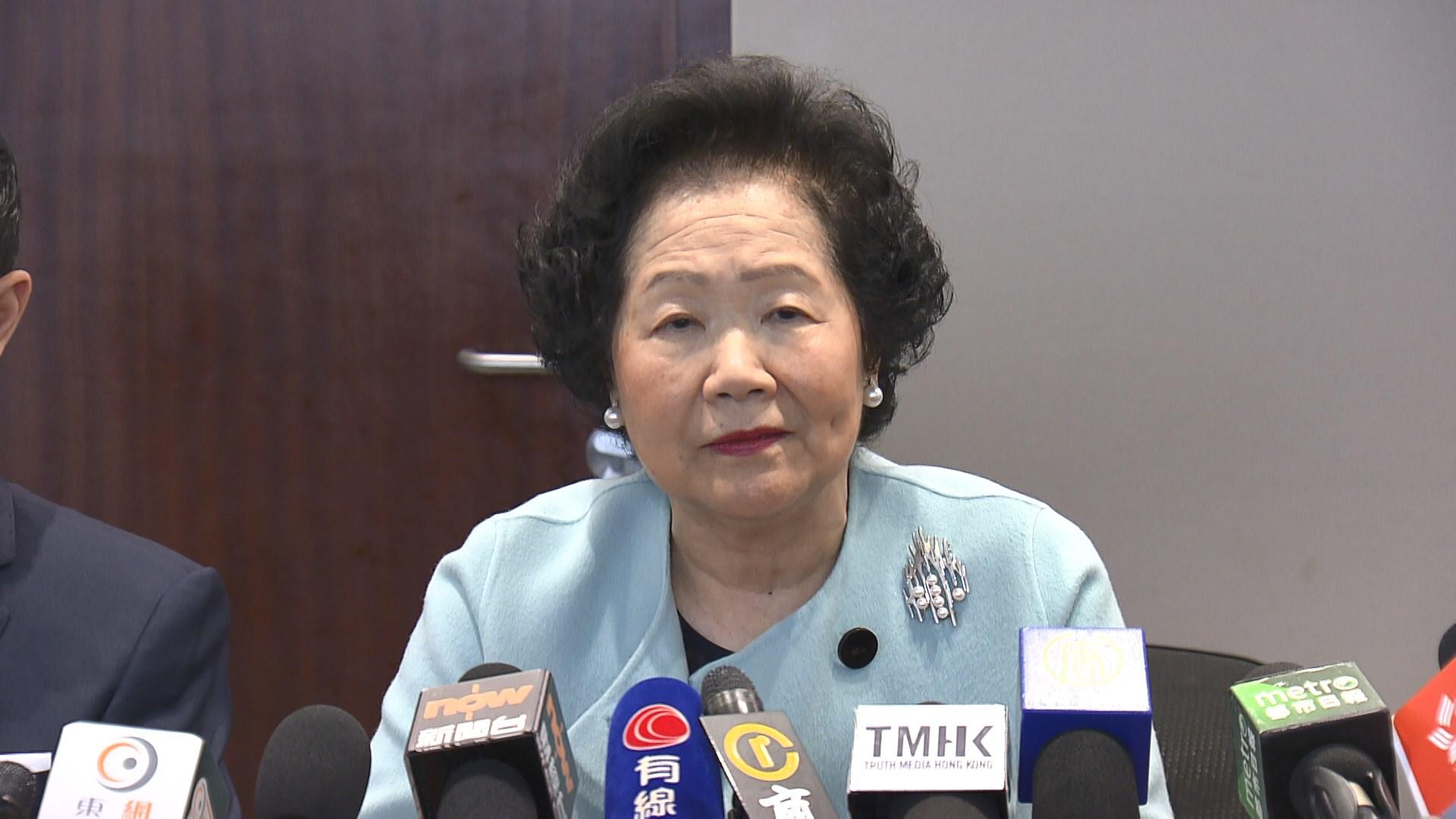 葉劉淑儀:陳方安生任內曾要求檢視與內地移交逃犯安排