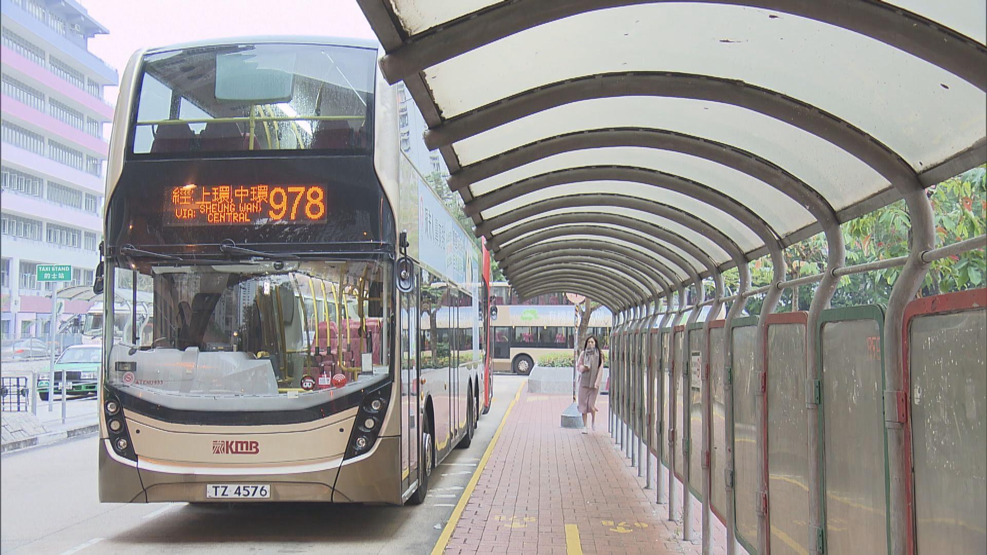 陳帆:巴士日均乘客量跌一半 暫不批准加價申請