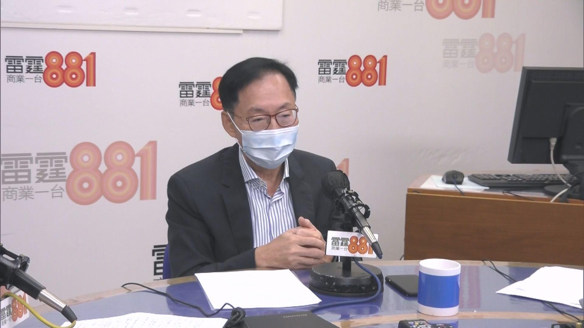 陳健波:若全部議員「托大腳」 對政府施政無好處