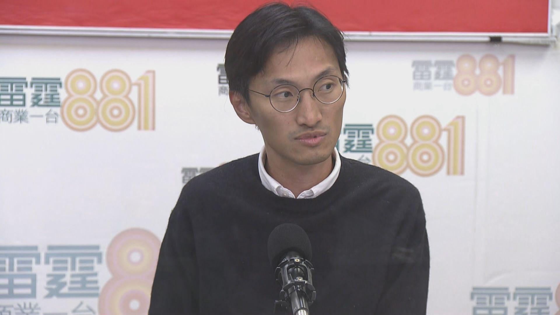 朱凱廸:最快下月提出選舉呈請