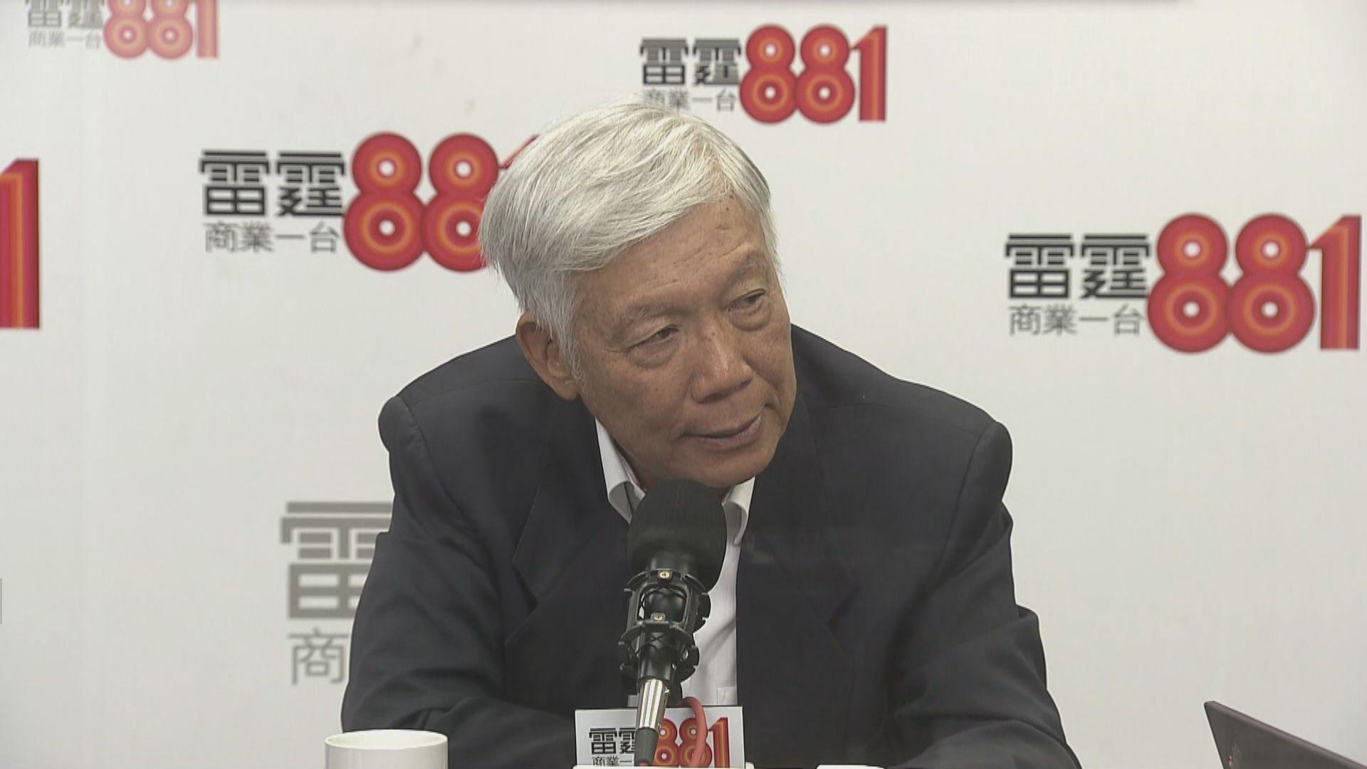 朱耀明相信政府有六四學運人士清單