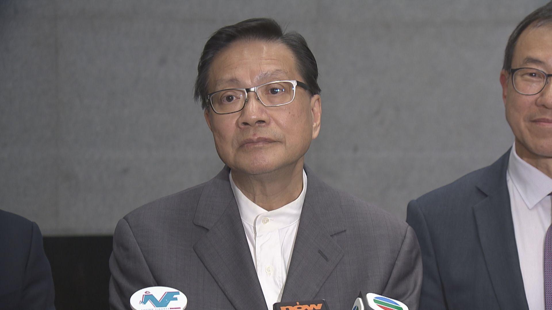 張炳良:施政質素與愛國者治港是兩件事