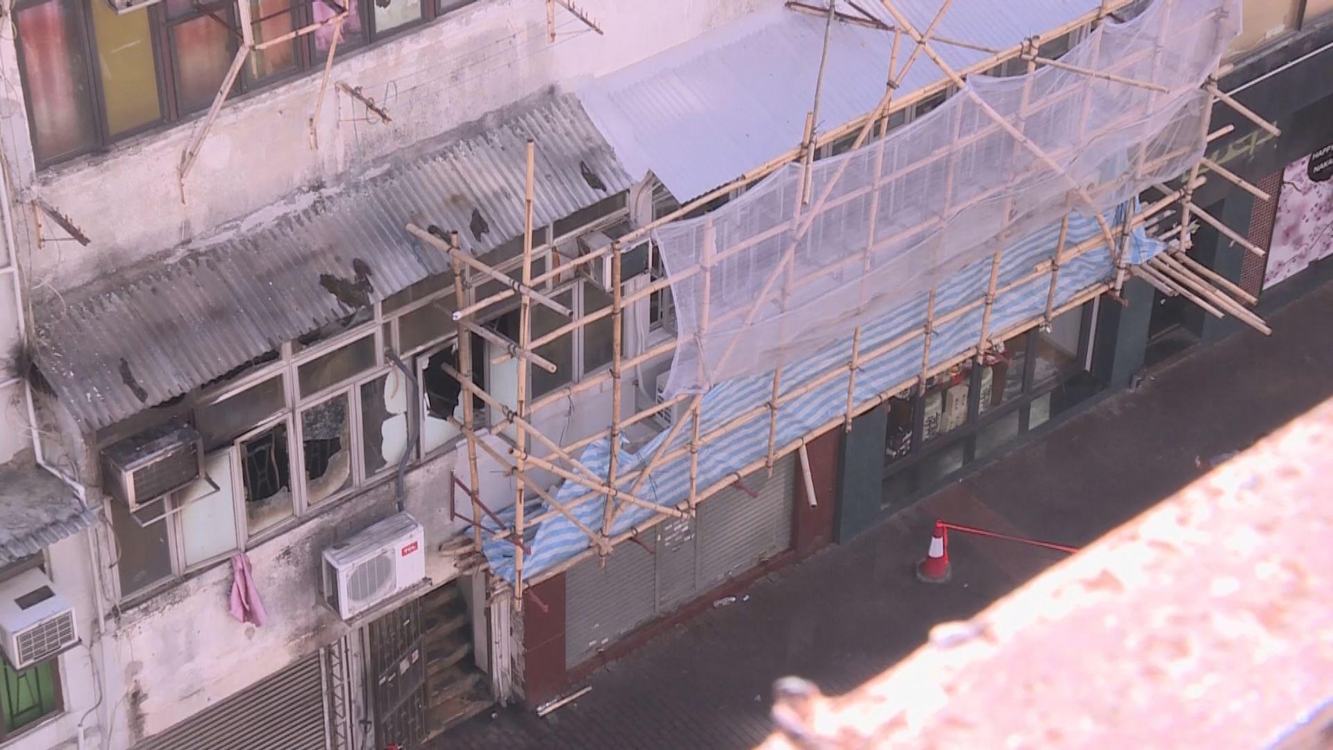 油麻地唐樓大火增至八死 初步調查指門口蠟燭點燃物品令人難以逃生