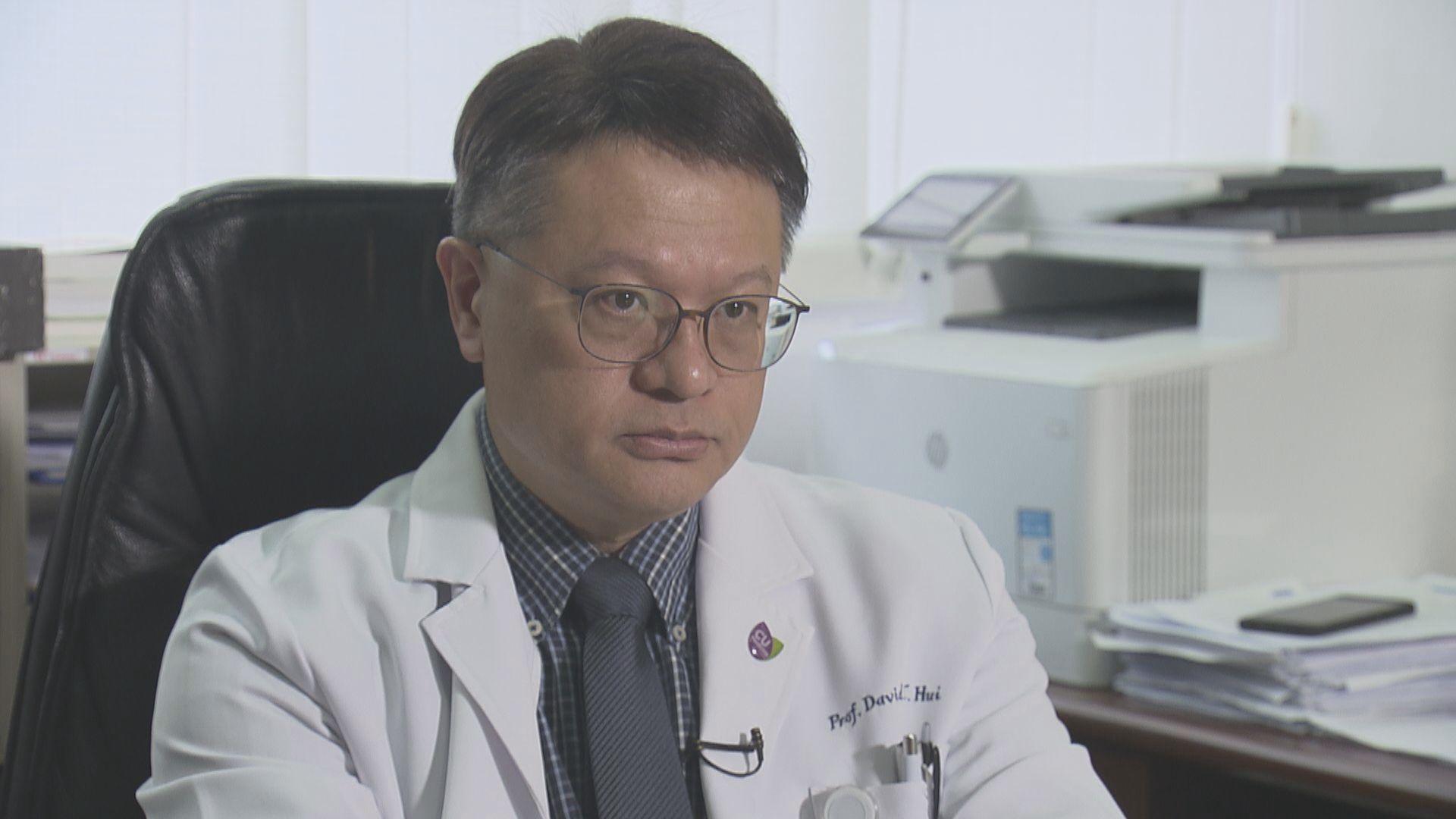 報道指科興新冠疫苗延至一月公布臨床試驗結果 許樹昌料影響疫苗抵港時間