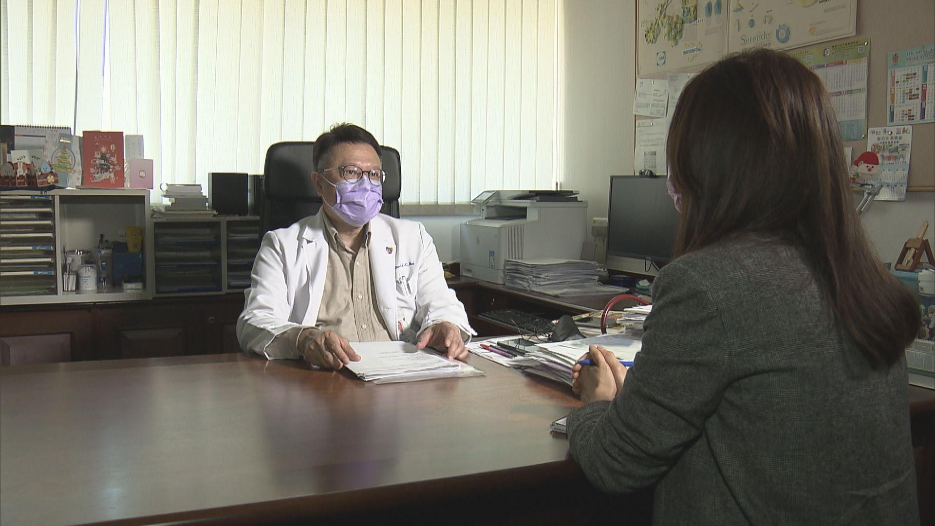 許樹昌料科興延遲公布數據 將影響疫苗抵港時間