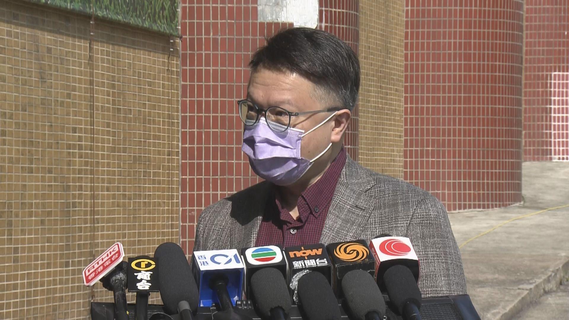 許樹昌:不一定待接種率達七成才放寬社交距離措施