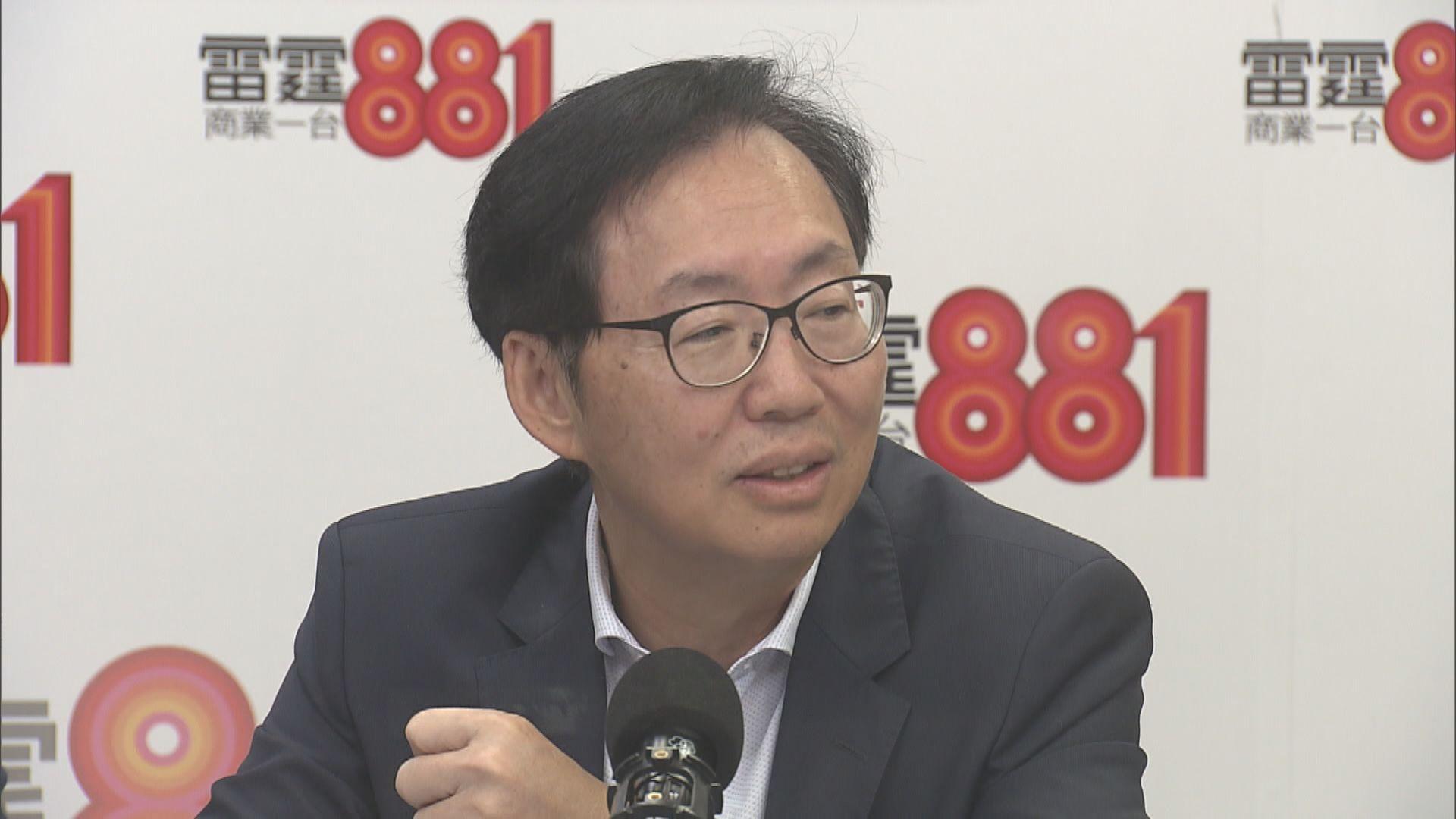陳健波籲議員集中討論撥款 勿浪費時間