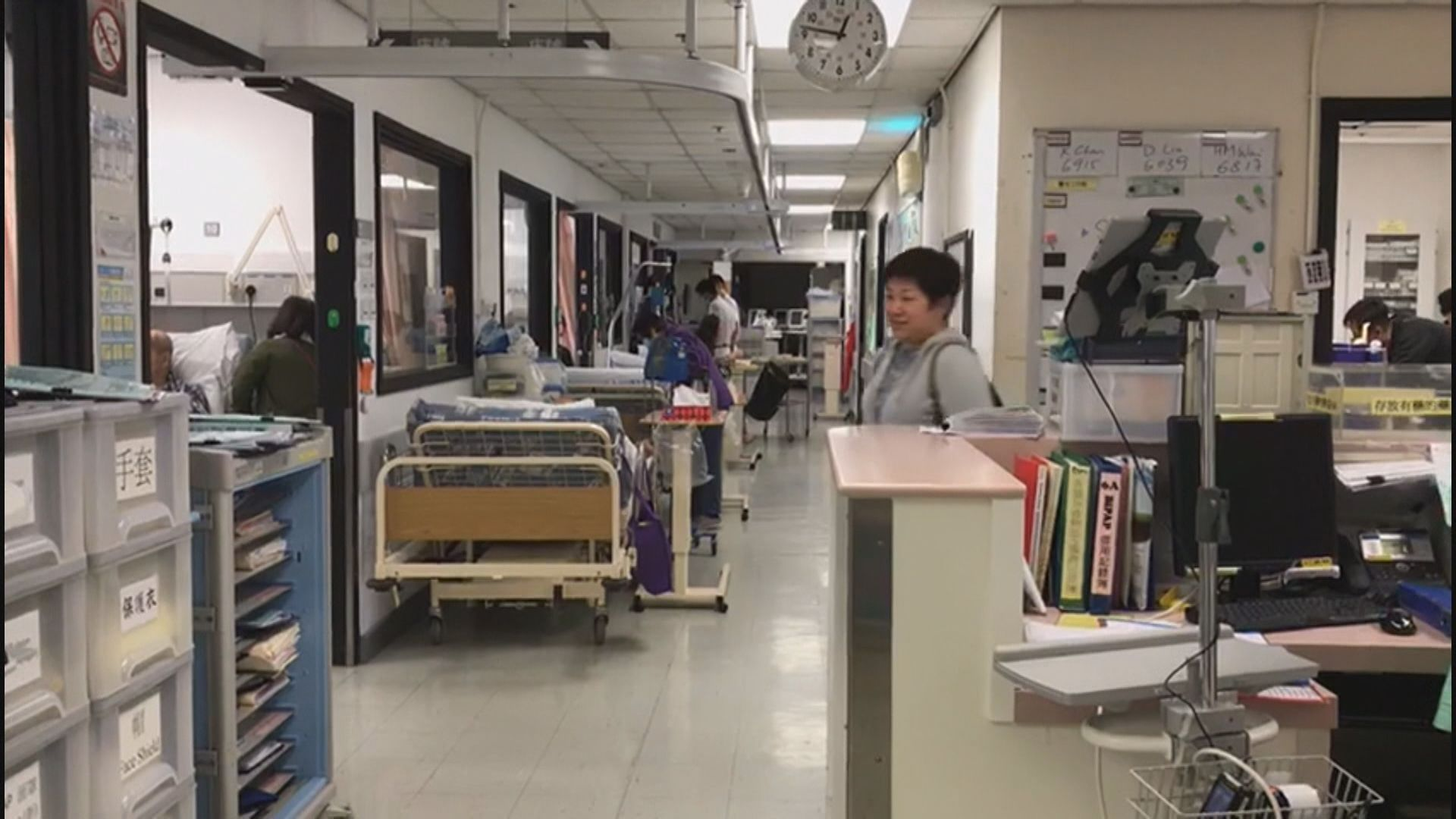 內科醫生:短期病床納入整體佔用率基數難反映實況