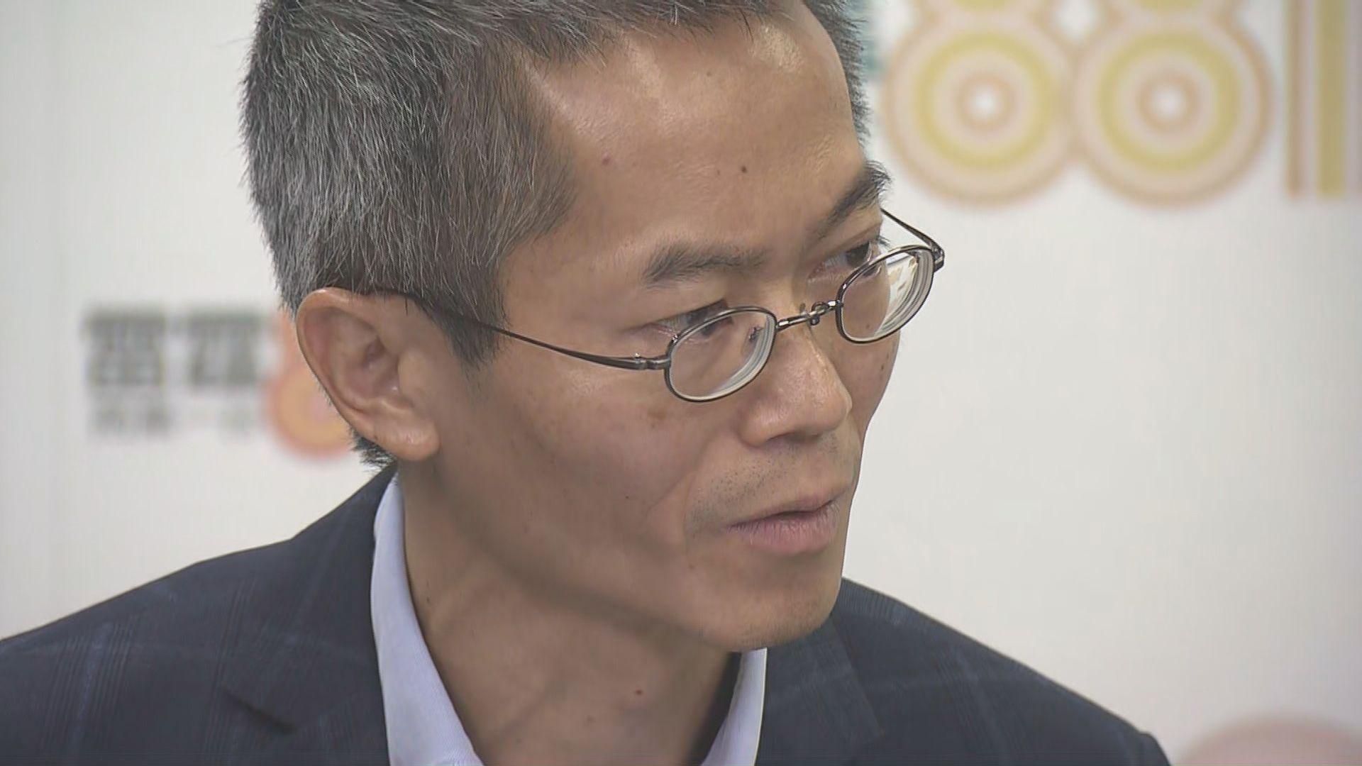 黃加慶:長洲情況令人擔心