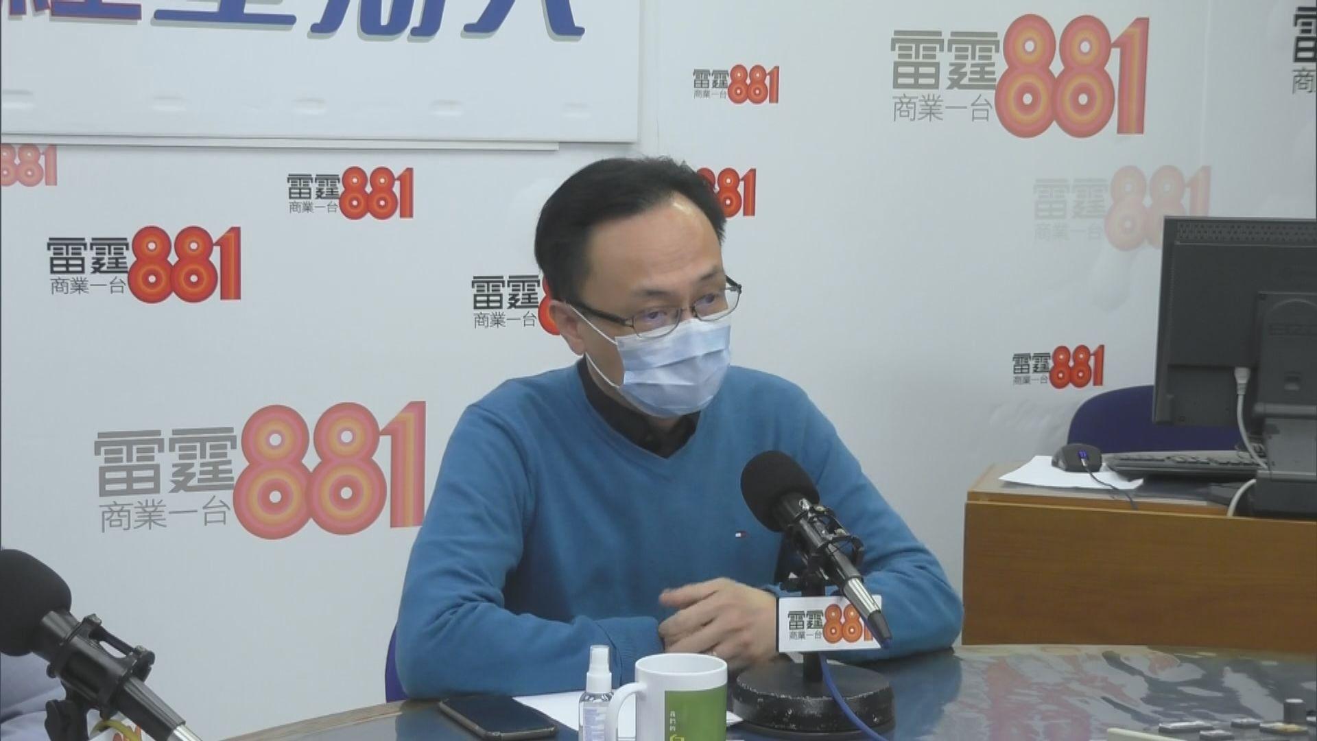 聶德權:正商討由內地為跨境司機進行病毒測試