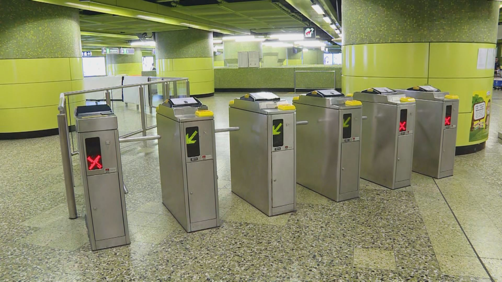 港鐵部分設施零件短缺 延長復修時間