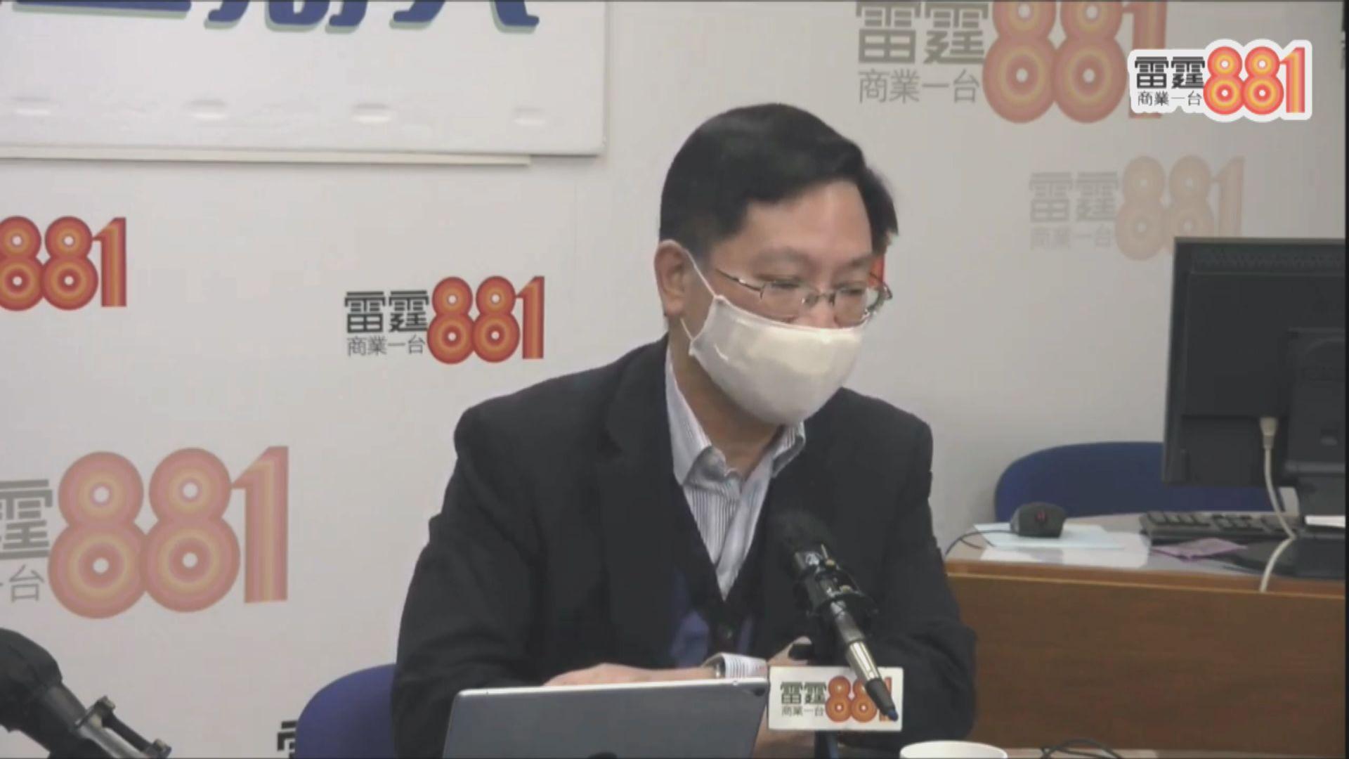 薛永恒:「智方便」程式會記錄疫苗注射紀錄