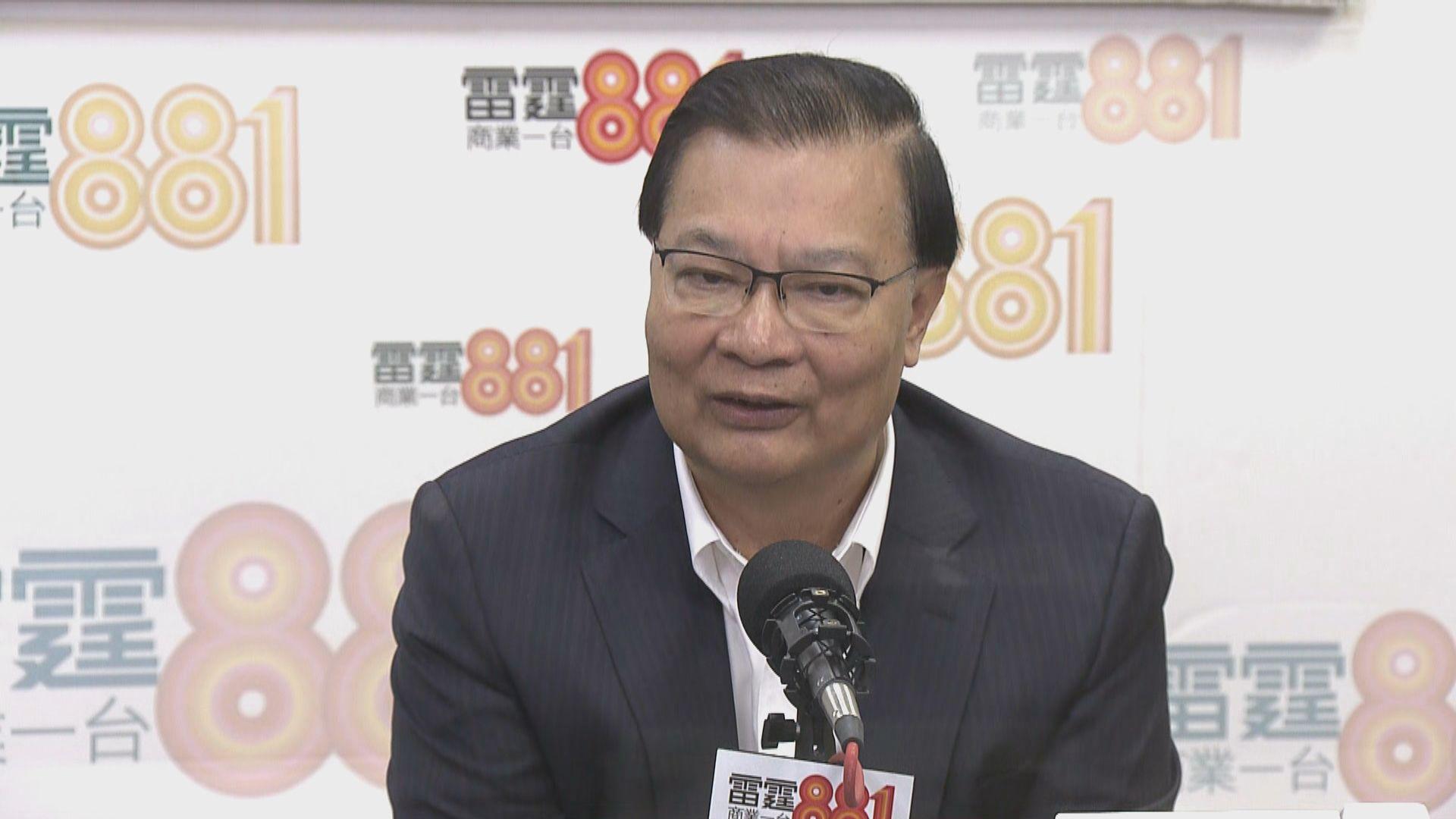譚耀宗:馬凱被拒續簽證與新聞自由無關
