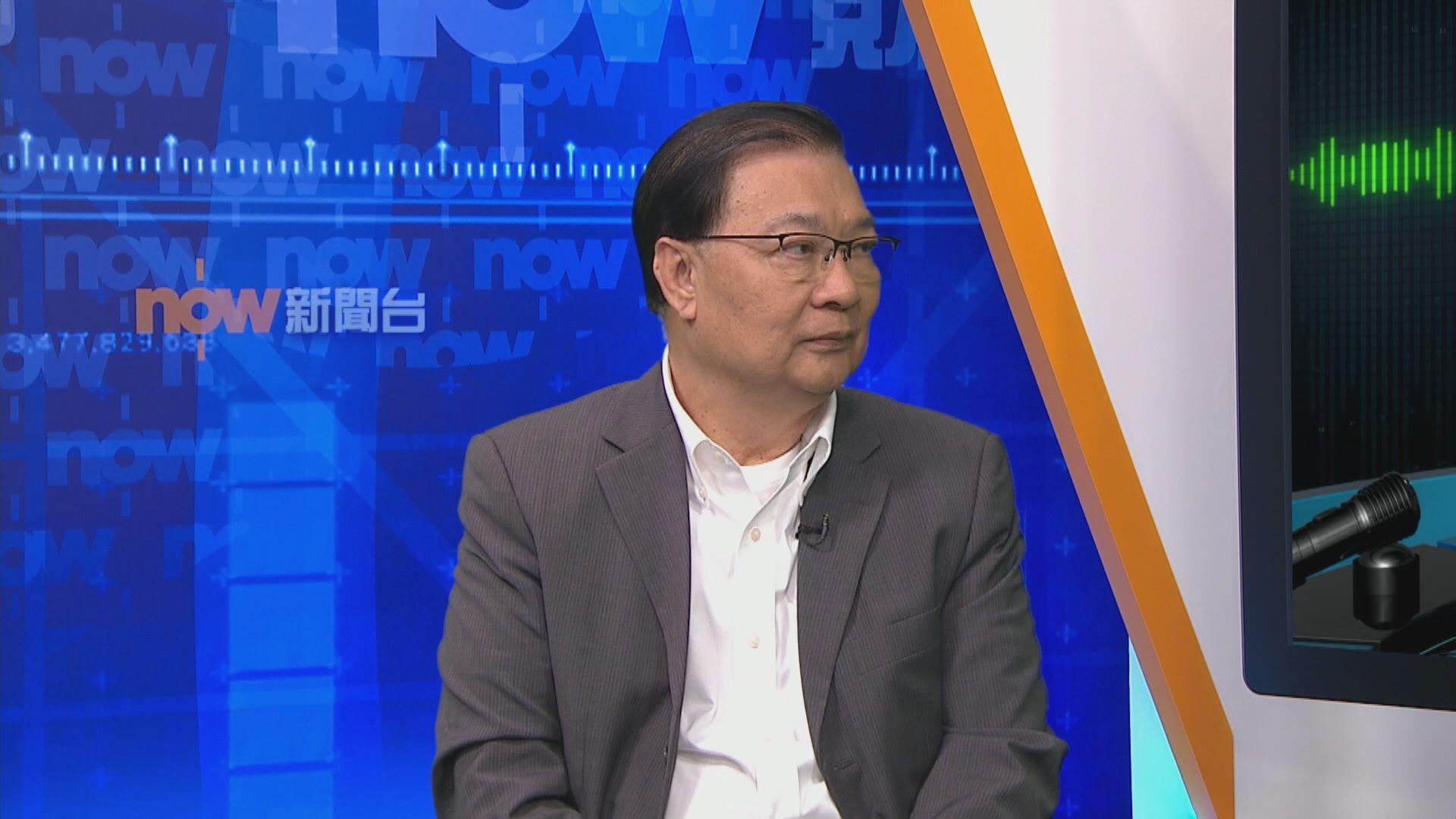 譚耀宗:中央希望盡早完成港區國安法但無定下日子