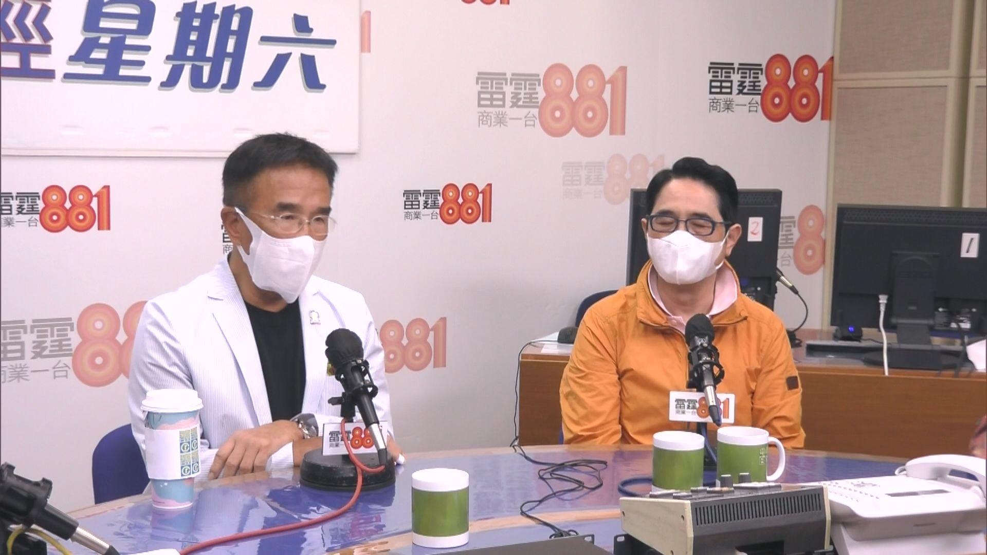 黃國健:疫苗接種率低 與內地通關有障礙