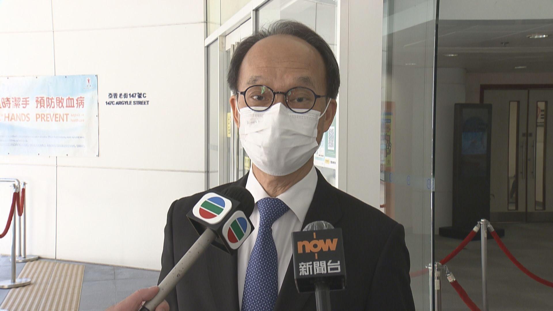 劉宇隆:疫苗接種指引保守 應彈性處理降科興接種年齡