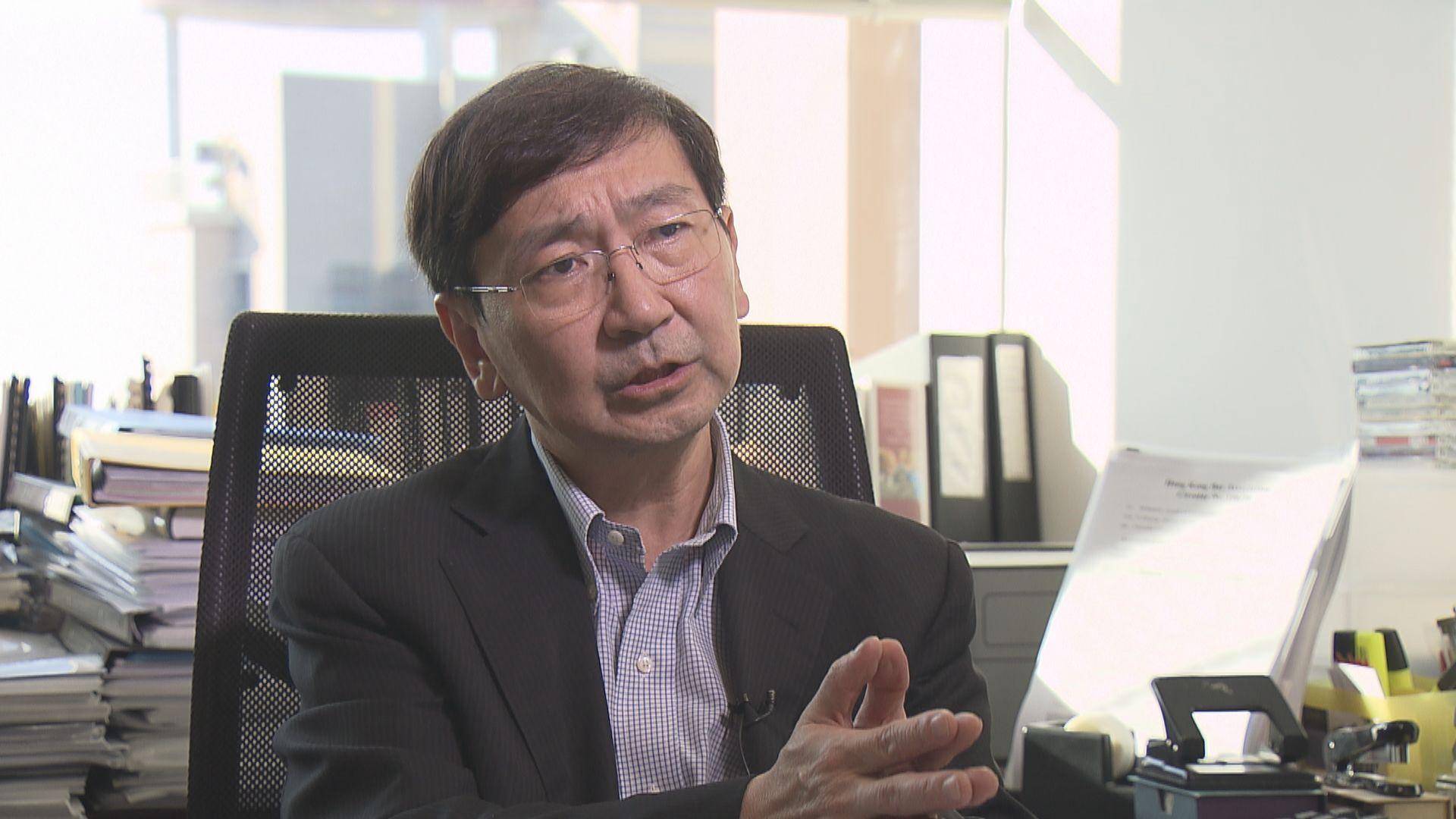 陳文敏 : 法例上難以禁止選民投白票