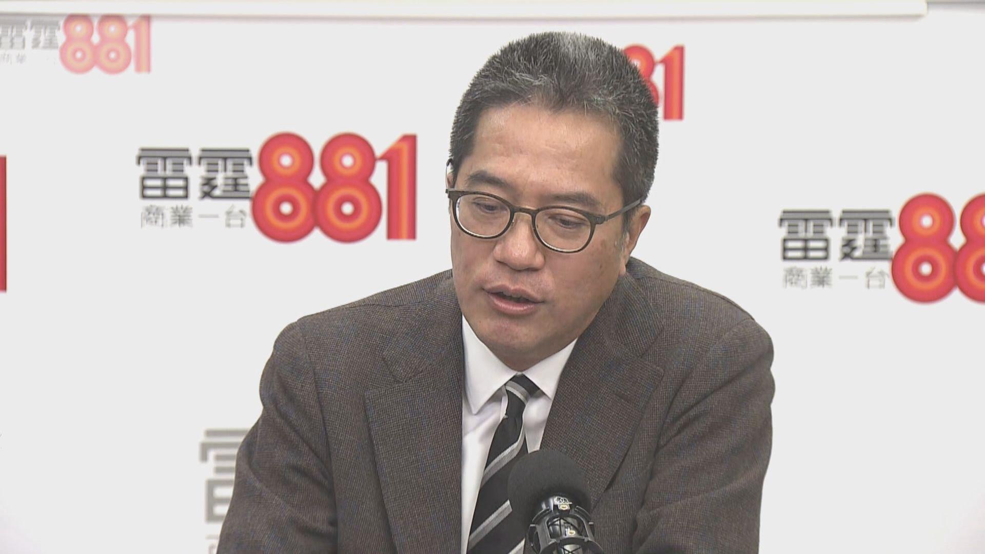 黃偉綸:無計劃建高鐵連接前海至東大嶼