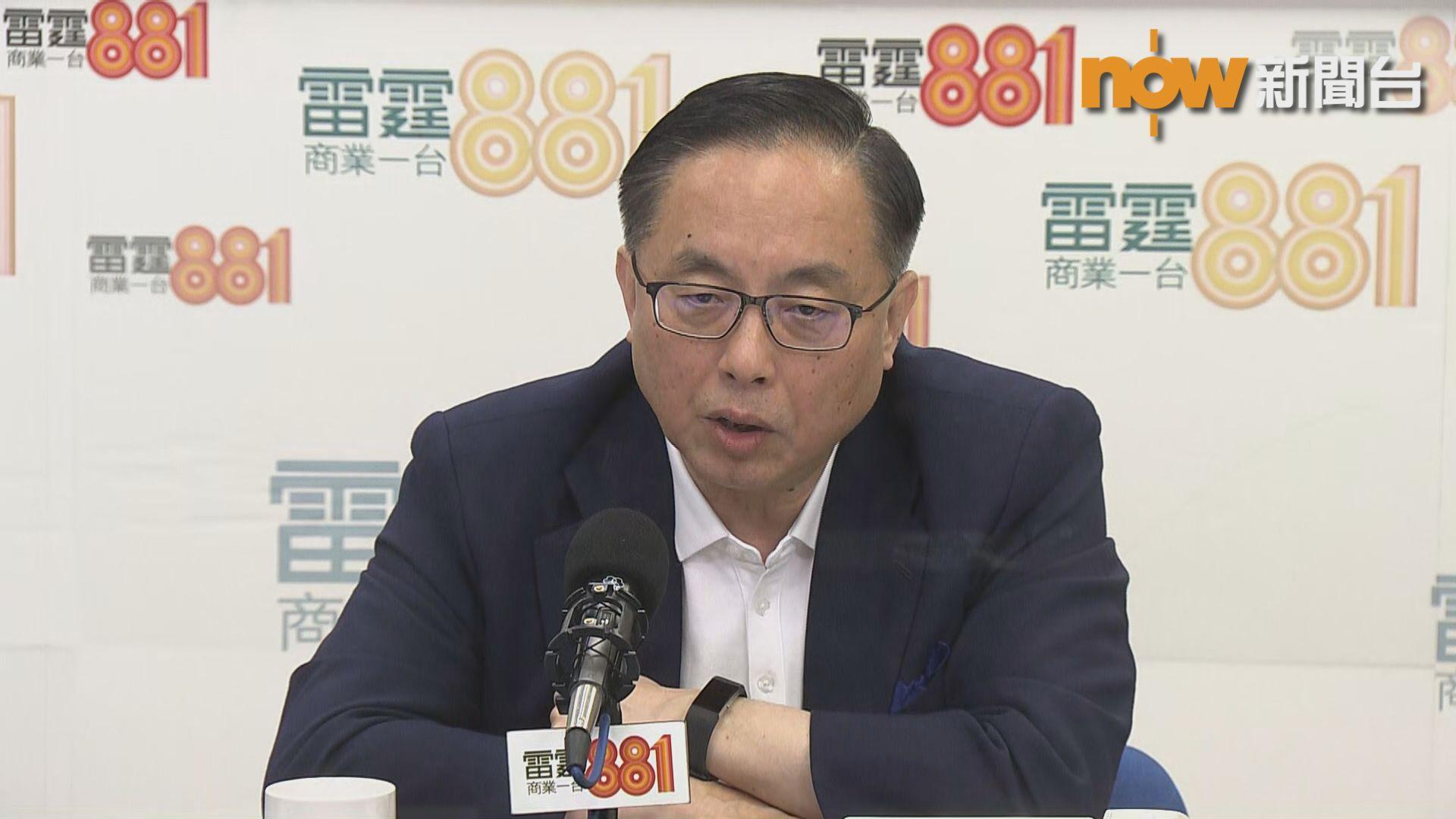 楊偉雄:經濟不明朗致科技人才入境申請低