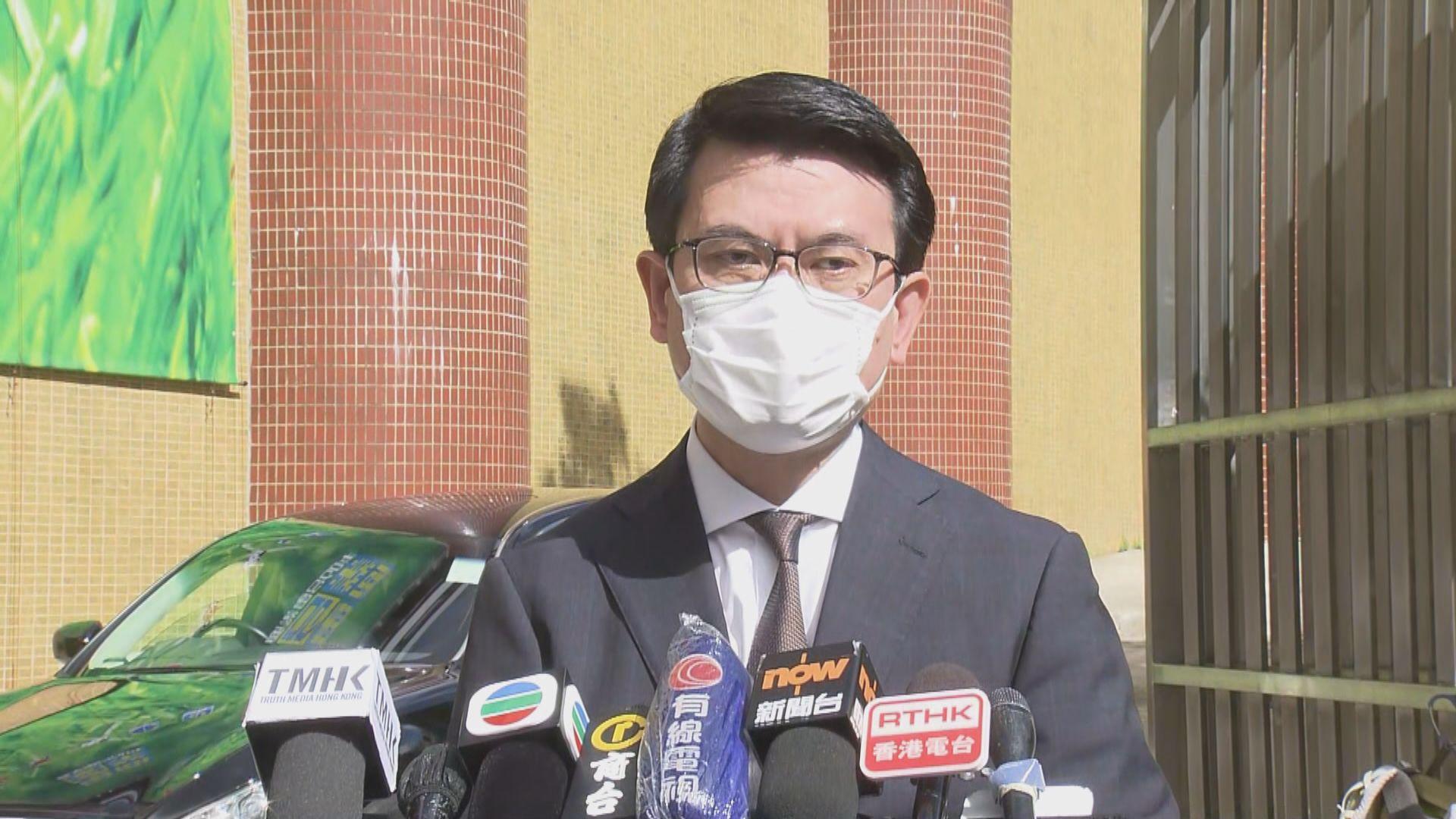 邱騰華:美制裁香港官員屬無理及野蠻