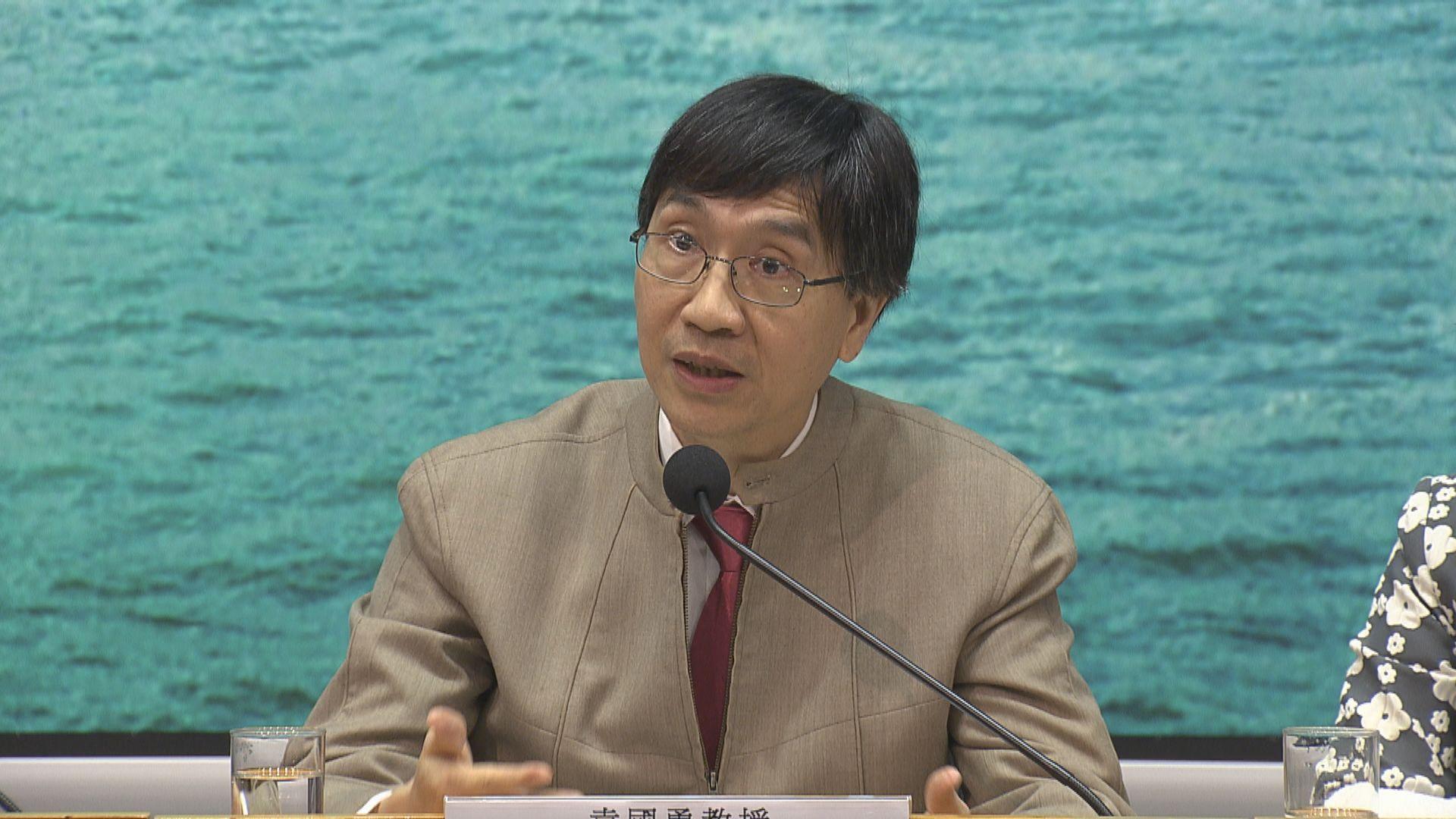 袁國勇:當七成人口產生抗體 疫情才會緩和