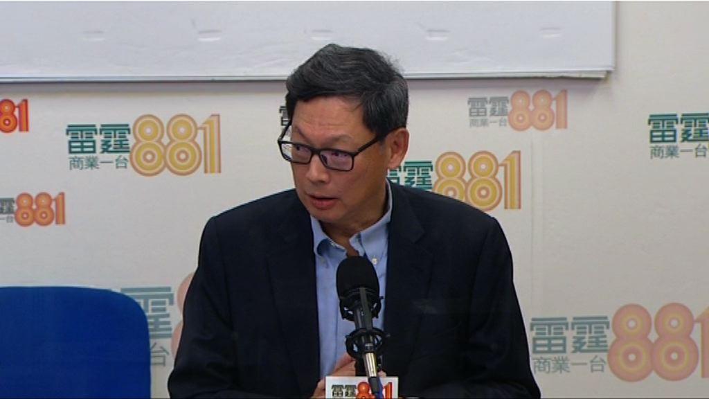 陳德霖:期望樓市只升不跌非常不理性
