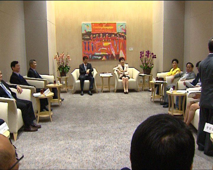 劉慧卿:與中方溝通助雙方了解