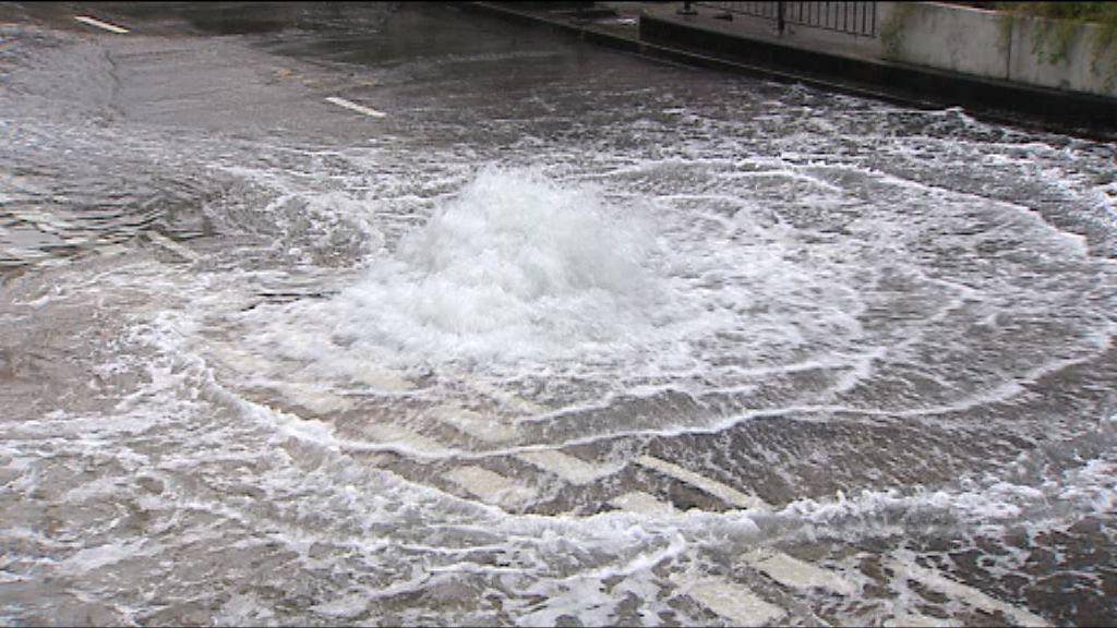 水務署指修水管工程難度高影響進度