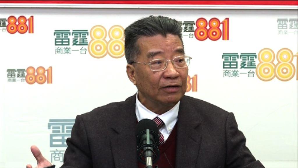 劉夢熊:梁振英現時不該任政協委員