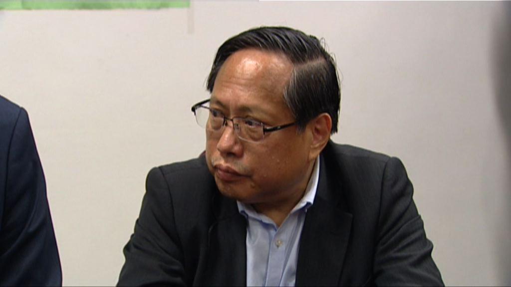 何俊仁:暫不判斷林子健有否誤導警務人員