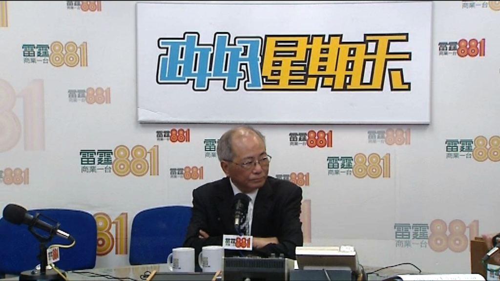 吳克儉決定結束本屆任期後退休
