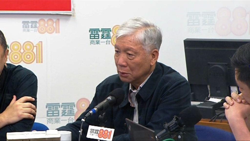 佔領三周年 朱耀明:最初沒想過或被監禁