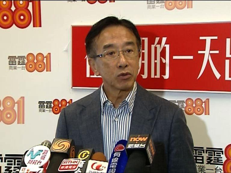 田北俊:張宇人適合擔任內會主席