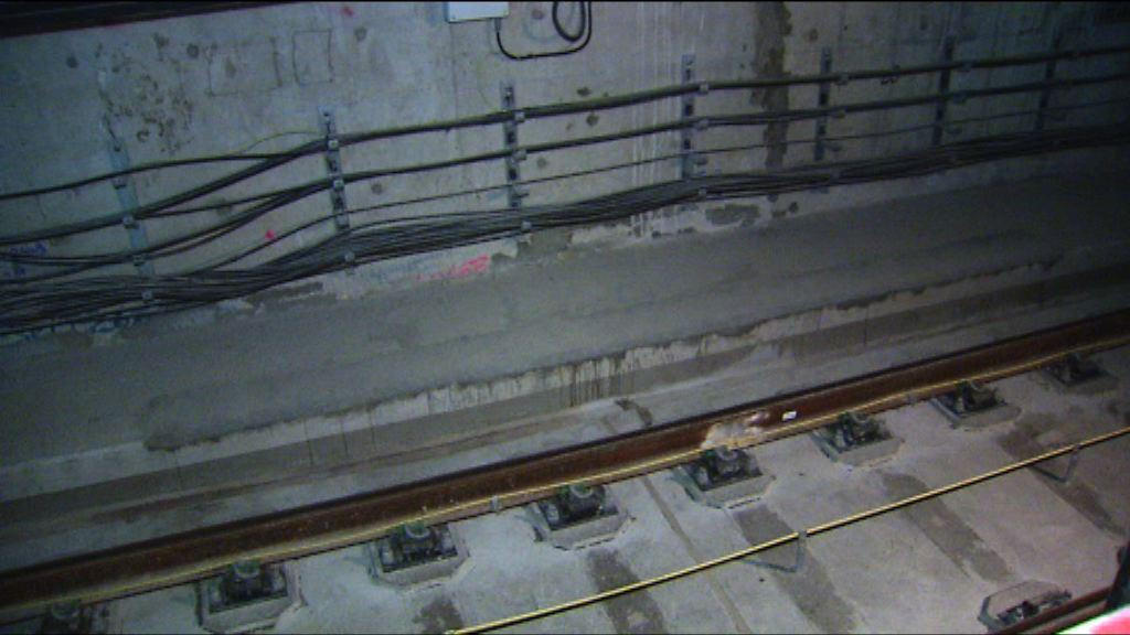 田北辰建議拆除沙中綫紅磡站月台混凝土檢查
