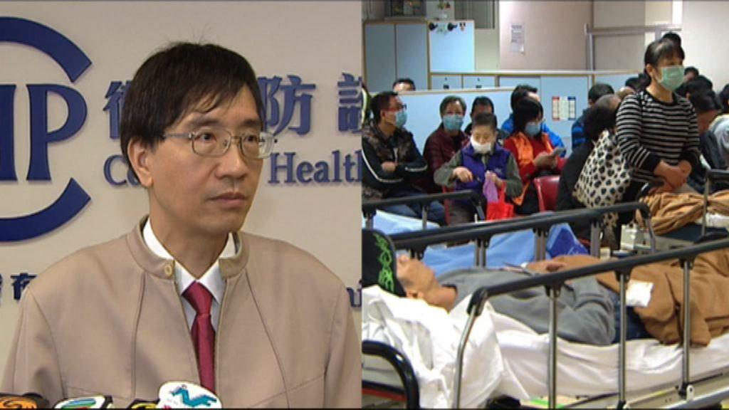 袁國勇:流感或再持續數星期
