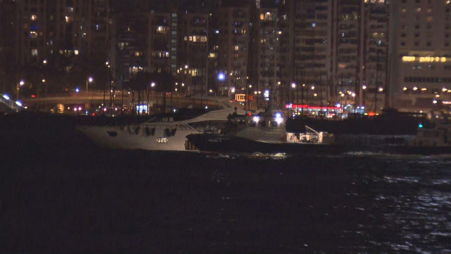 兩艘遊艇在紅磡海面碰撞一人送院