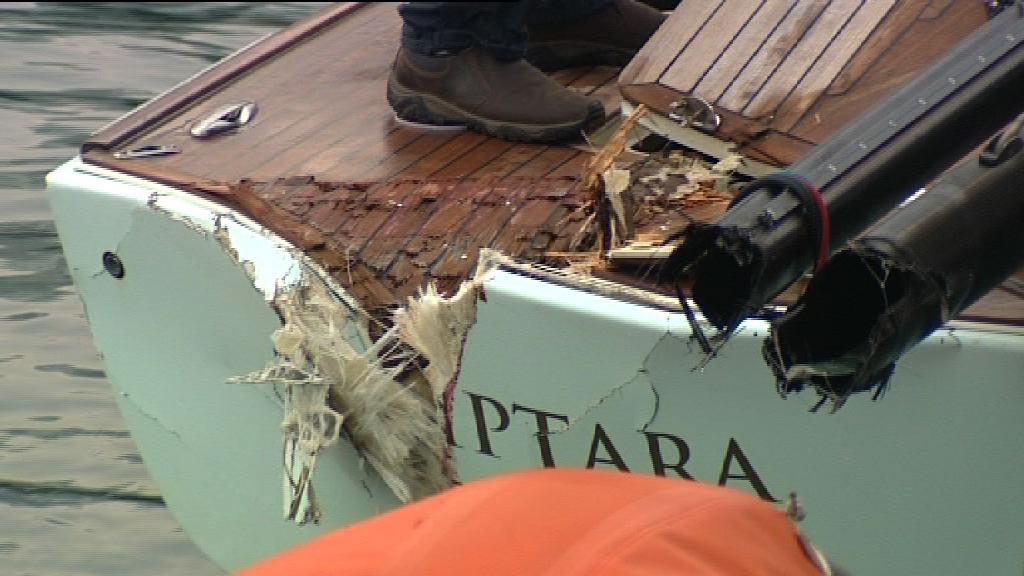香港仔帆船與遊艇相撞 無人傷